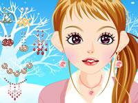 Maquillage sous la neige