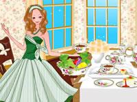 Une table pour le thé