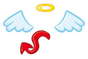 Les anges et le diable