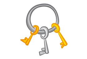 Le gardien des clefs