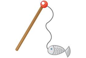 Le pêcheur et les poissons