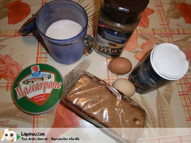 Mousse café pain d'épice