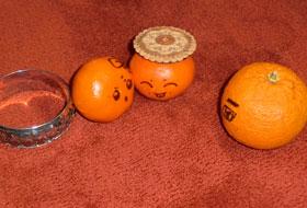 Une famille orange