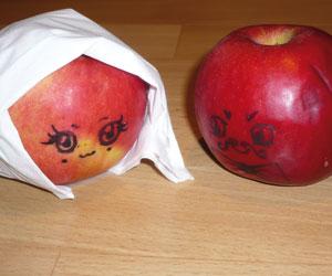 Le mariage des pommes