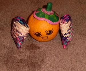 Madame Orange aux courses