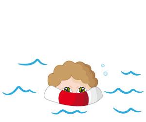 Harry dans l'eau