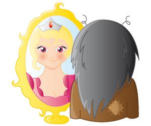 La princesse qui jouait à s'enlaidir