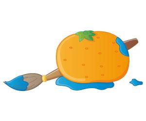 La mandarine bleue
